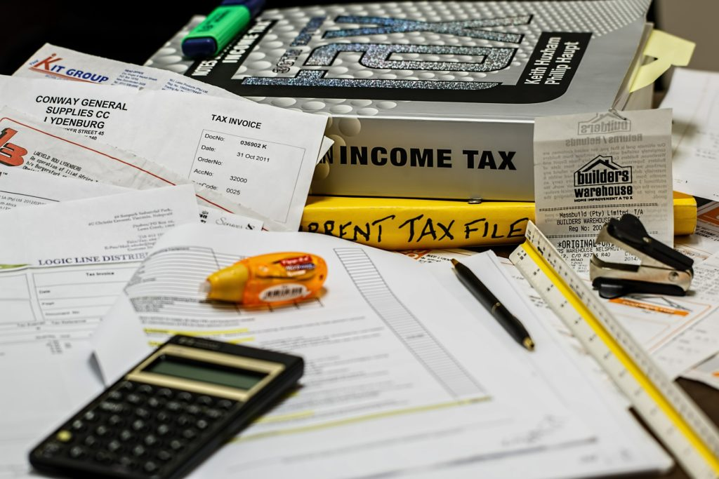 Income tax exemptions for salaried employees