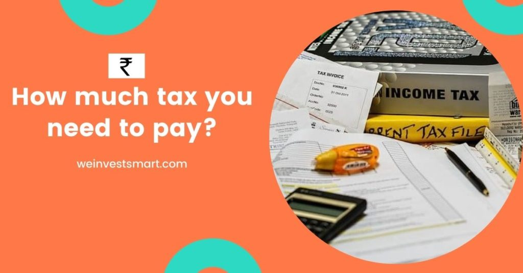 how much tax you need to pay