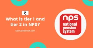 What is tier 1 and tier 2 in NPS