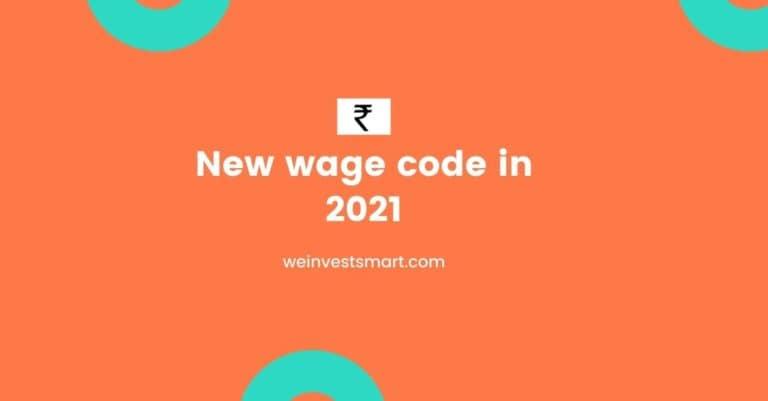 New wage code 2021