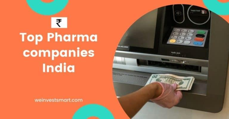 top Pharma companies India